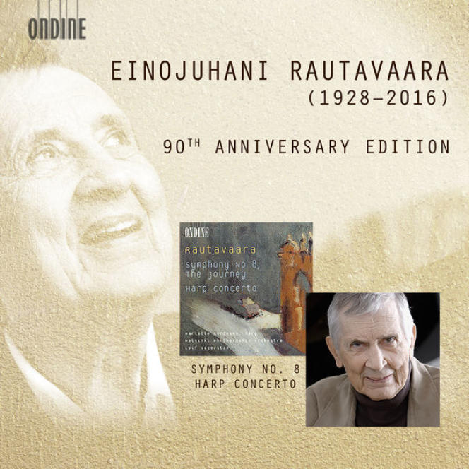 Pochette de l'album «90th Anniversary Edition», œuvres d'Einojuhani Rautavaara.