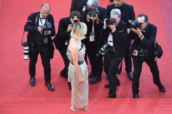Le festival de cinéma de Canneslors de sa 71e édition. L'actrice française Marion Cotillard.