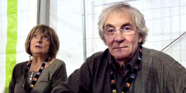 Les sociologues Monique Pinçon-Charlot et Michel Pinçon à la Fête de l'Humanité, le 17 septembre 2011, à La Courneuve.
