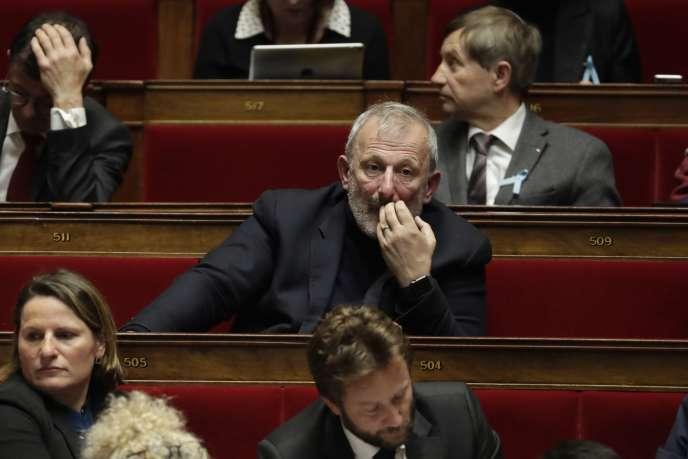 Le député François Pupponi, le 3 avril 2018, à l'Assemblée nationale.
