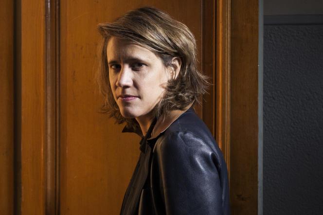 Sophie Vermeille à Paris, le 16 novembre.