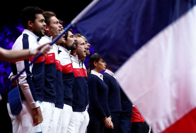 Les Bleus, in the national anthem for the meetings, on Friday
