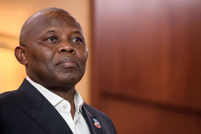 L'opposant congolais Vital Kamerhe, à Genève, le 11 novembre 2018.