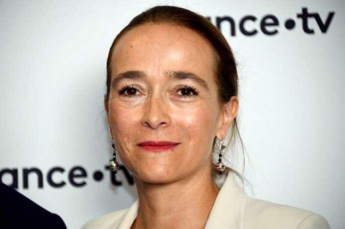 Delphine Ernotte, présidente de France Télévisions, le 23 août 2018.