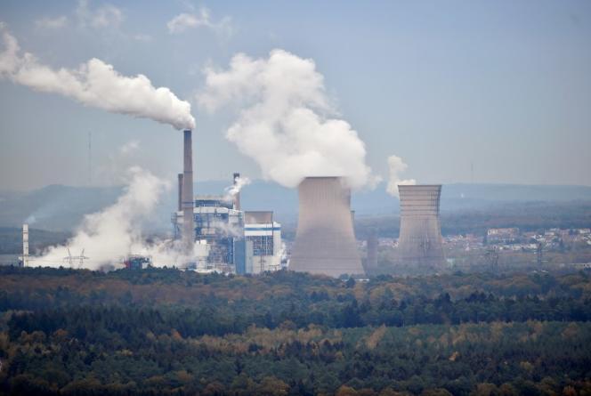 La centrale thermique Emile Huchet deSaint-Avold (Moselle), le 31 octobre.