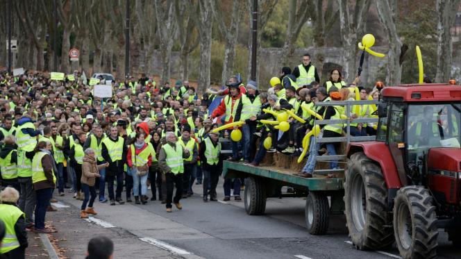 Plus de 106000«gilets jaunes» ont manifesté dans toute la France, samedi 24 novembre.