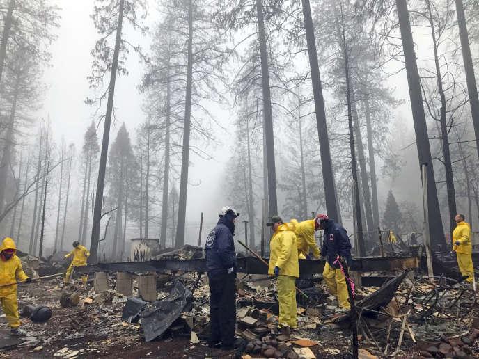 A Paradise, dans le nord de la Californie, le «Camp Fire» a tué 85personnes.