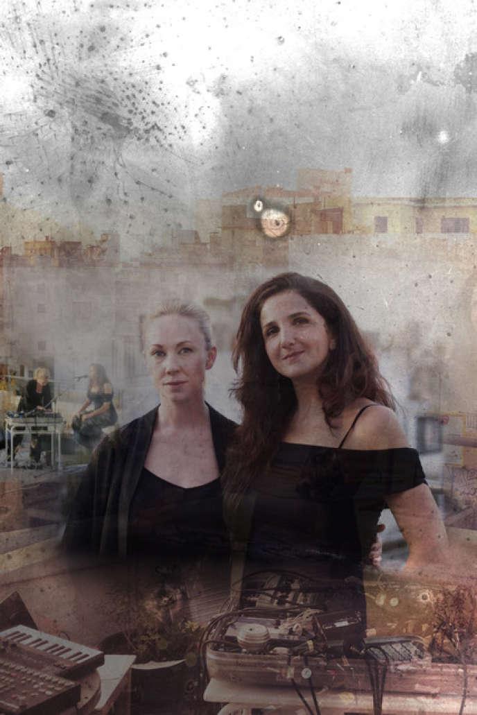 La chanteuse libanaise Tania Saleh et la DJ suédoise Lisa Nordström.