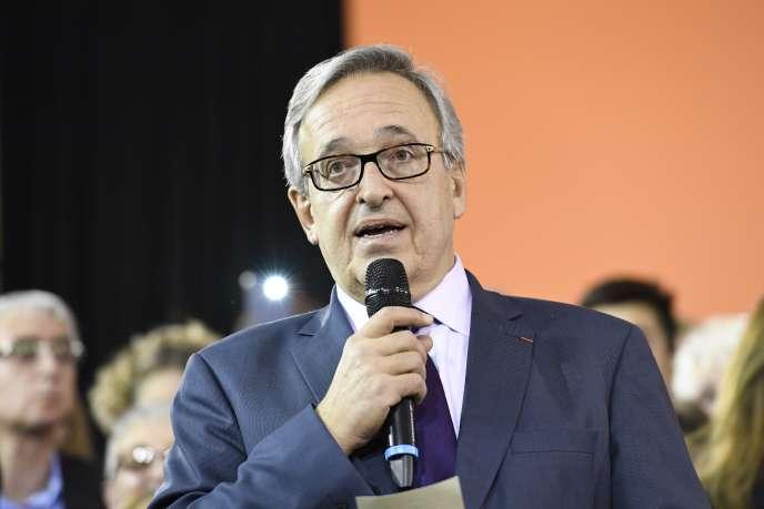 Francis Chouat, le 5 décembre 2016 à Evry.