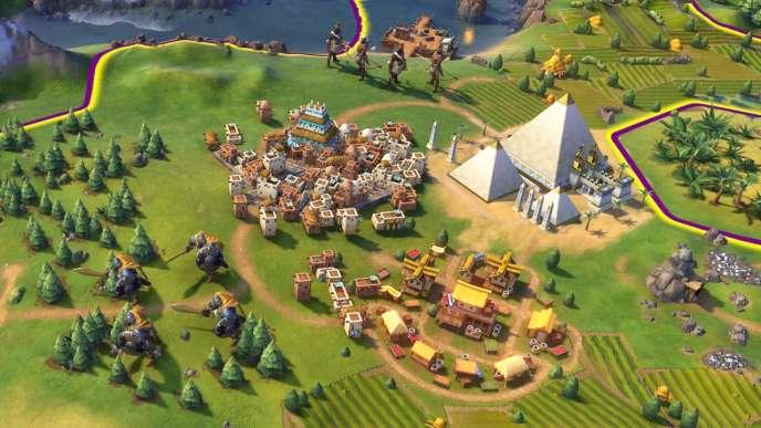 « Civilization VI», un jeu de gestion qui permet de s'intéresser à l'Histoire et à la culture de différentes civilisations.