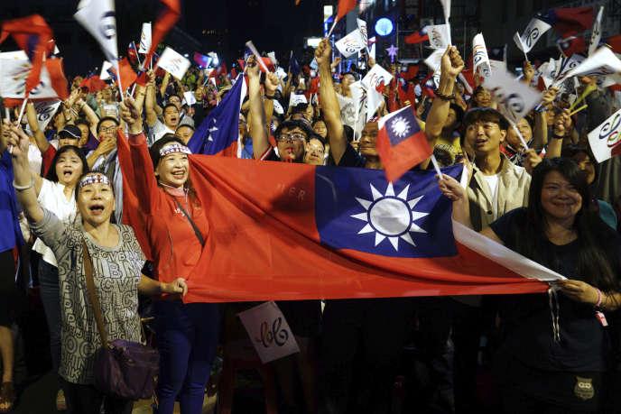 Samedi, la victoire du candidat prochinois Han Kuo-yu à Kaohsiung, deuxième ville du pays, a été un revers pour la présidente indépendantiste Tsai Ing-wen.