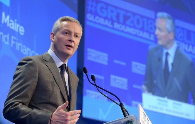 Bruno Le Maire, le 26 novembre 2018.