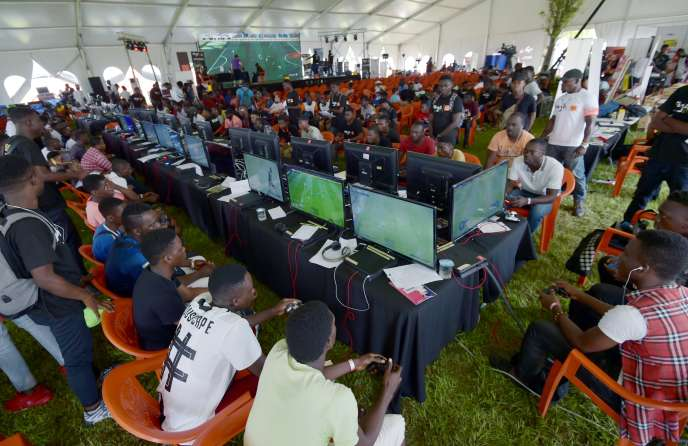 Abidjan, organized by the Electronic and Video Game Festival on November 24, 2018 in Cote d'Ivoire