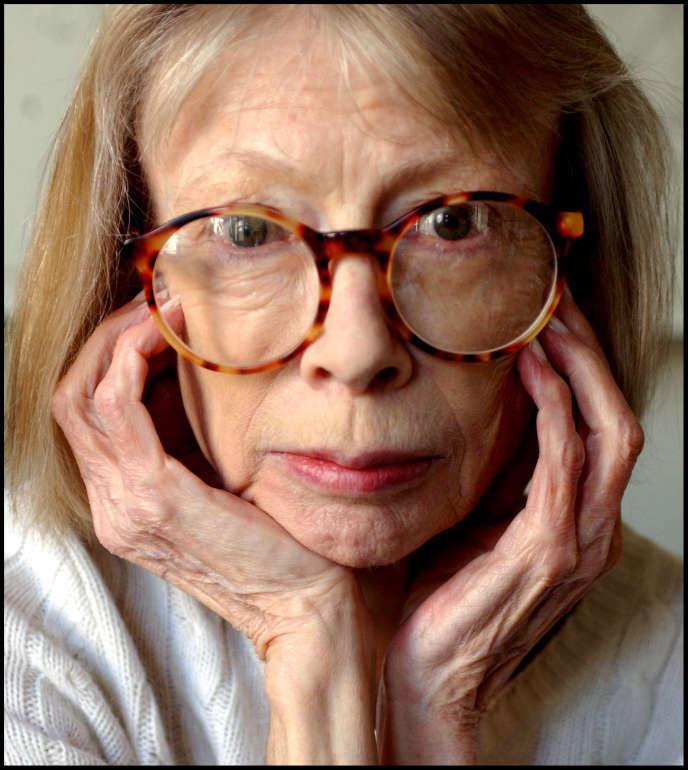 L'écrivaine américaine Joan Didion, en 2009.