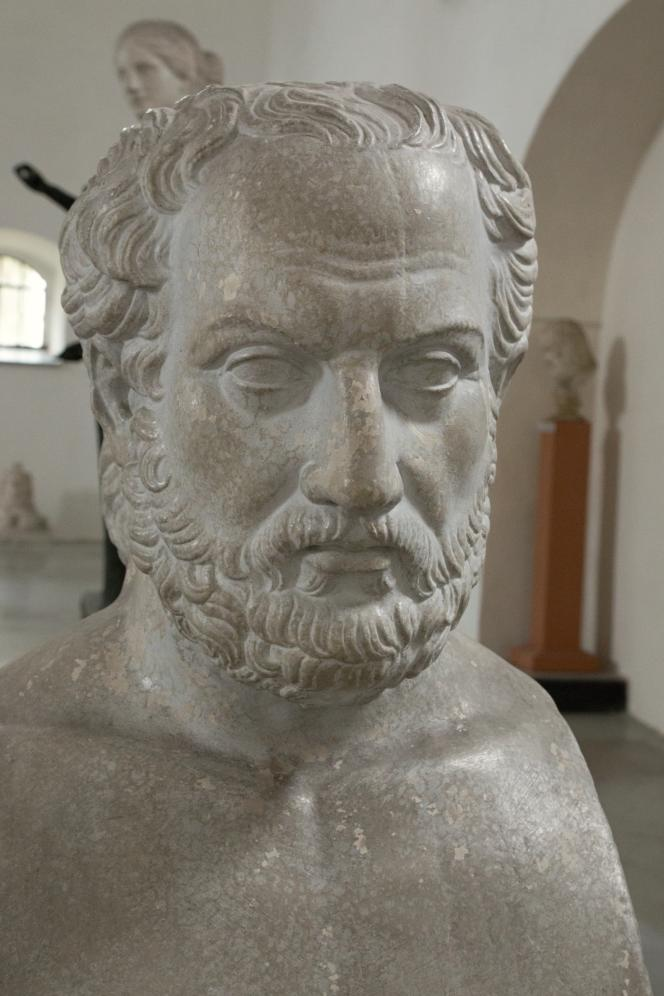Thucydide, homme politique et historien athénien, né avec 465 avant J.-C.