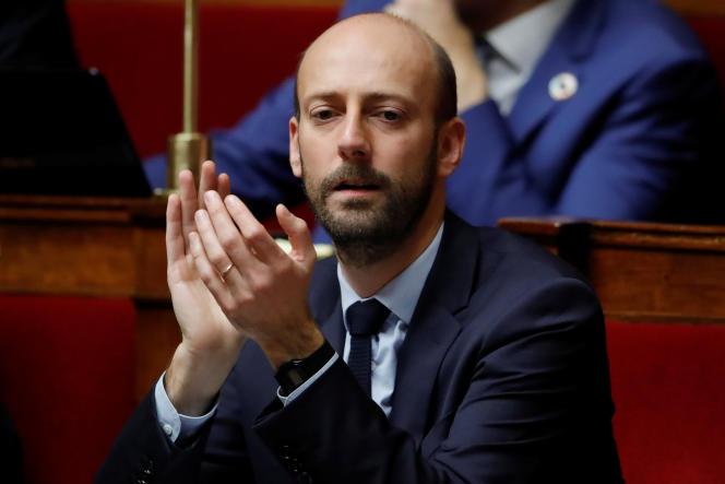 Stanislas Guerini, député (La Republique en marche) de Paris, à l'Assemblée nationale, le 27 novembre.