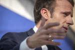 Emmanuel Macron, président de la République, fait un discours après Installation du Haut-Conseil pour le climat au Palais de l'Elysée à paris, mardi 27 novembre 2018 - 2018©Jean-Claude Coutausse / french-politics pour Le Monde