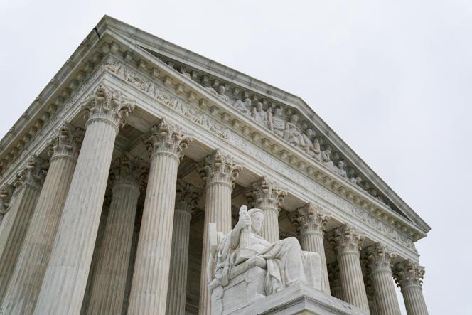 La Cour suprême des Etats-Unis, à Washington, en juin.