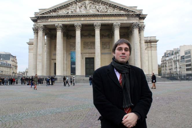 L'administrateur du Sénat, Benoît Quennedey, à Paris, en novembre 2017.