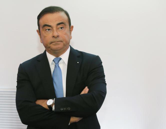 Carlos Ghosn, le 6 octobre 2017.