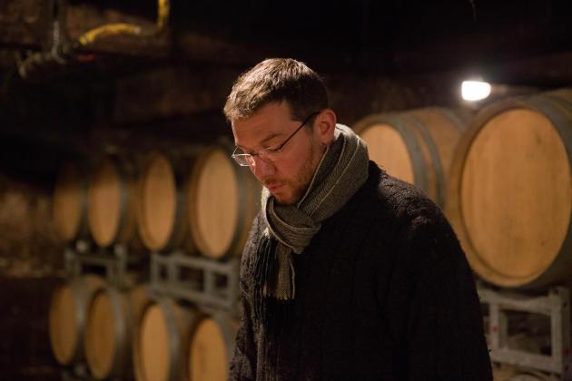 Sébastien Mouzon a hérité de lamaison familialeMouzon-Leroux &fils, qui cultive sur 7,5ha les sept cépages champenois.
