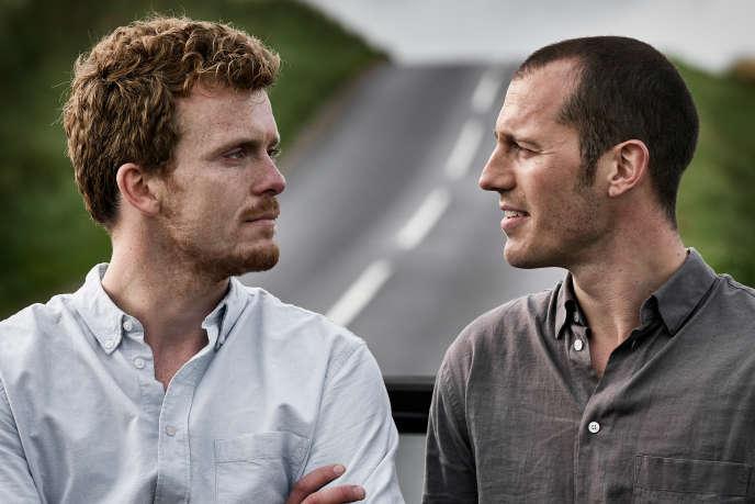 Dans « Au nom du père», les frères Krogh : Morten Hee Andersen alias August (à gauche) et Simon Sears alias Christian (à droite).