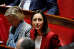 French deputy minister in charge of Ecology Transition Brune Poirson attends the questions to the government session at the National Assembly in Paris, France, November 27, 2018. REUTERS/Gonzalo Fuentes