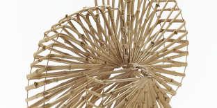 « Ritsudo», okimono en bambou de Sugiura Noriyoshi.