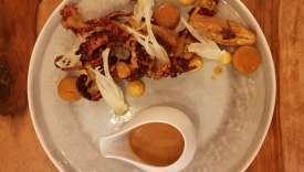 Le poulet rôti façon bouillabaisse d'Alexandre Mazzia.