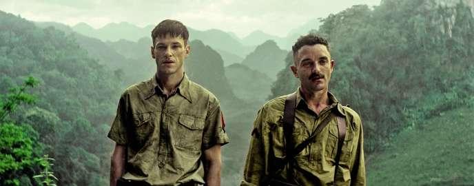 Gaspard Ulliel et Guillaume Gouix partagent l'affiche de ce film tourné au Vietnam dans des conditions difficiles.