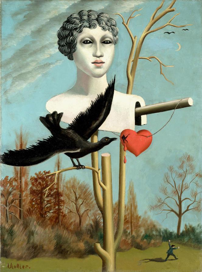«L'Epouvantail charmeur III» (1928), de Jean Viollier, Association des Amis du Petit Palais, Genève.