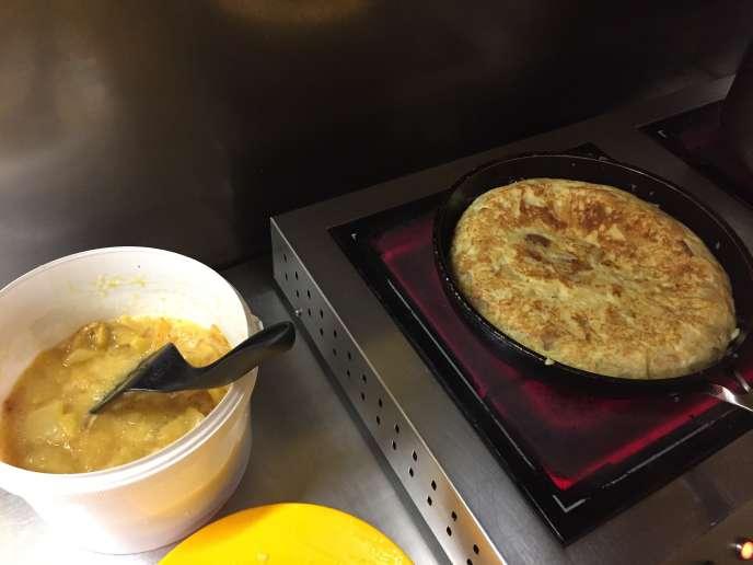 Possiblement l'une desmeilleures tortillas de Paris, préparée tous les matins.