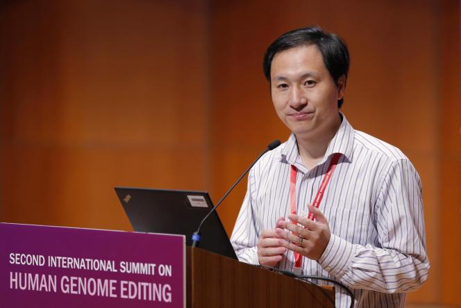 He Jiankui, le 28 novembre 2018 à Hongkong.