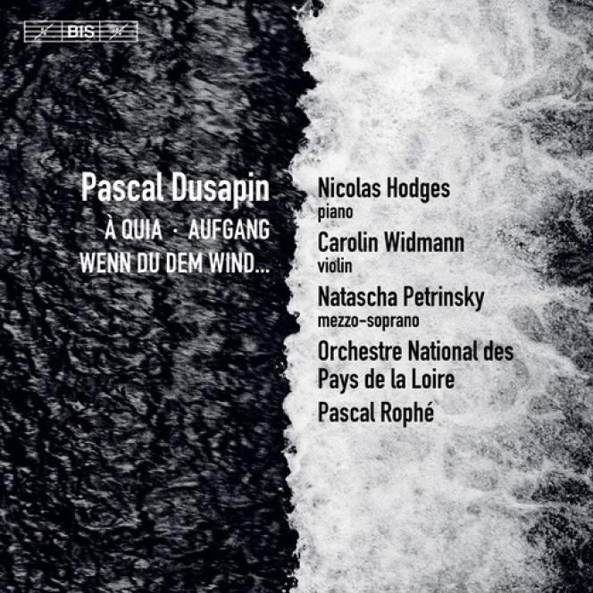 Pochette de l'album«A quia. Aufgang. Wenn du dem Wind…», de Pascal Dusapin.
