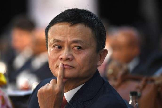 Jack Ma, fondateur d'Alibaba, le 26 octobre 2018.