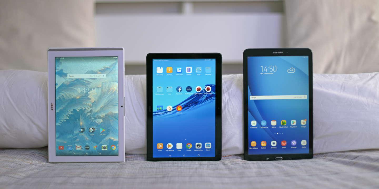 On a testé… trois grandes tablettes à 200 euros
