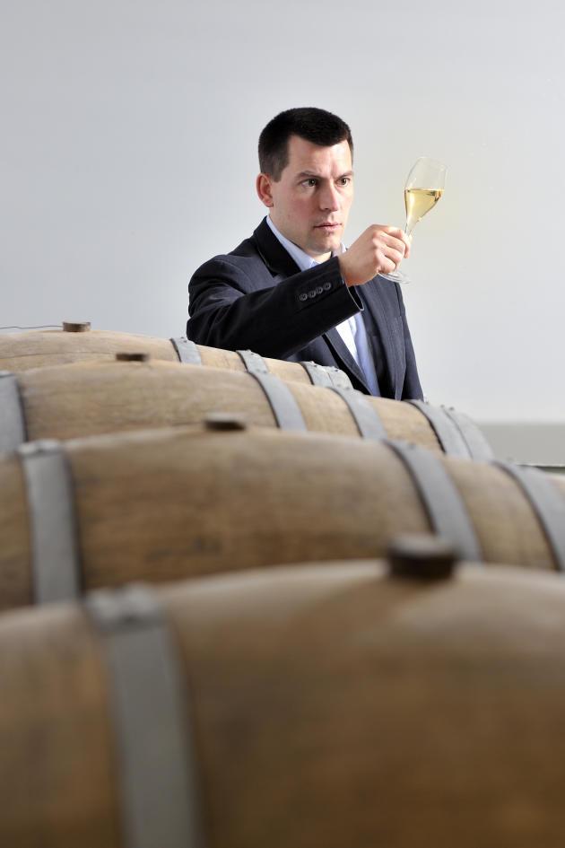 Paul-Vincent Ariston, vigneron propriétaire du domaine Aspasie.