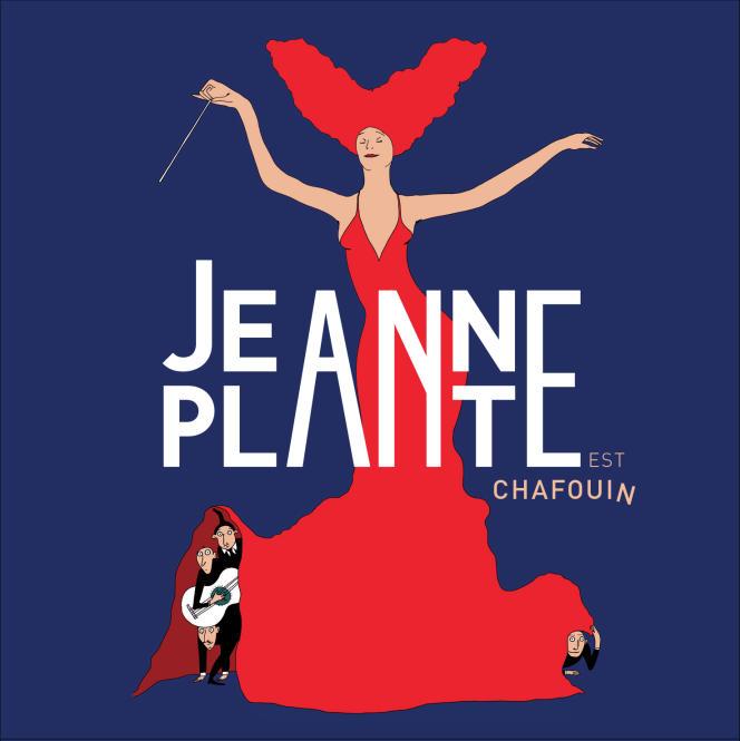 Pochette de l'album« Chafouin», de Jeanne Plante.
