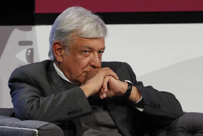 Andres Manuel Lopez Obrador, à Mexico, le 22 novembre.
