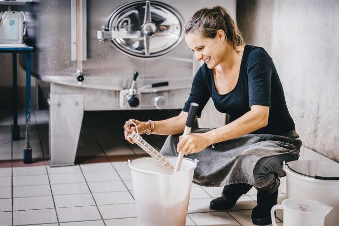 Sophie Milesi, viticultrice dans l'entreprise familiale Guy Méa.