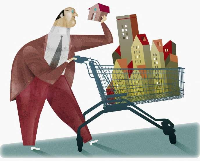 Les sociétés immobilères cotées investissent beaucoup l'immobilier professionnel
