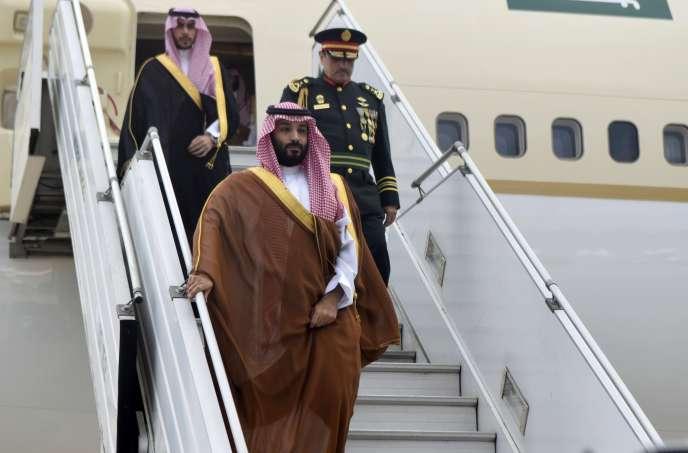 Le prince héritierMohamed Ben Salman, le 28 novembre 2018.