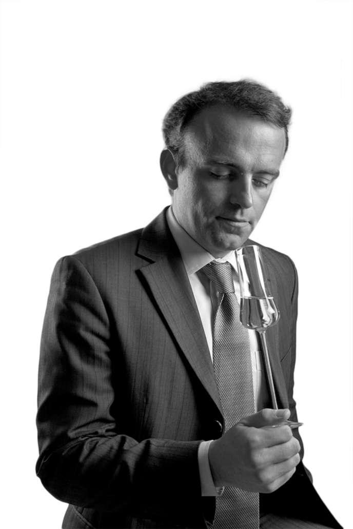 Victor Duntze,42 ans, a fondé la maison de négoce G.F. Duntze à Reims (Marne), en 2013.