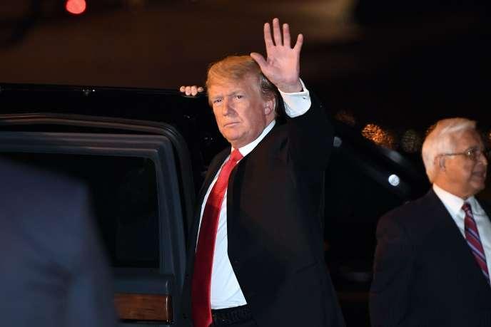 Donald Trump à son arrivée à Buenos Aires jeudi 29 novembre.
