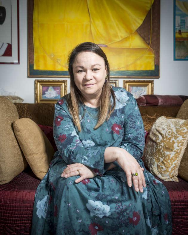 La romancière cubaine Zoé Valdés, éxilée en France depuis 1995, ici en juin 2018.