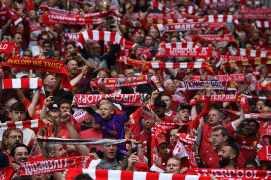 Des supporteurs de Liverpool FC.