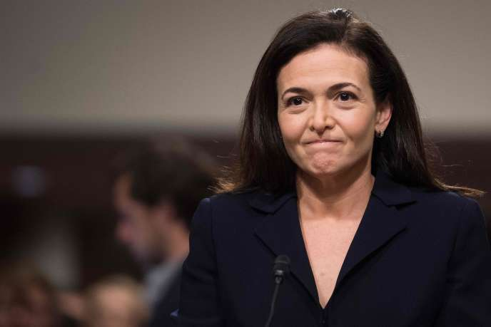 Sheryl Sandberg, directrice des opérations et numéro deux de Facebook, lors de son audition devant la commission du renseignement du Sénat, le 5 septembre 2018.