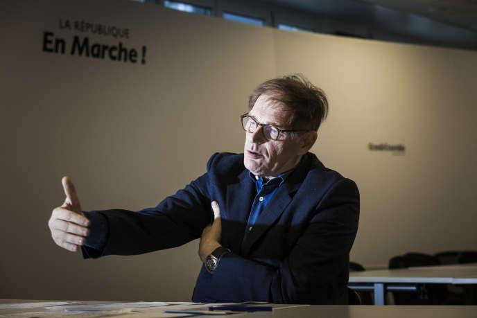 Philippe Grangeon, délégué général par intérim de La République en marche, à Paris, le 28 novembre.