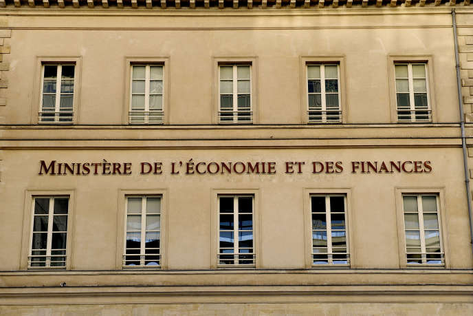 Paris, 12e arrondissement, quartier de Bercy, ministère des finances.