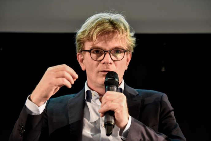Marc Fesneau, ministre chargé des relations avec le Parlement, dans leClub de l'économie du « Monde », à Paris, le 29 novembre.